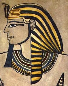 Изображение фараона Аменхотепа II