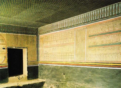 Усыпальница фараона Аменхотепа II гробница KV35